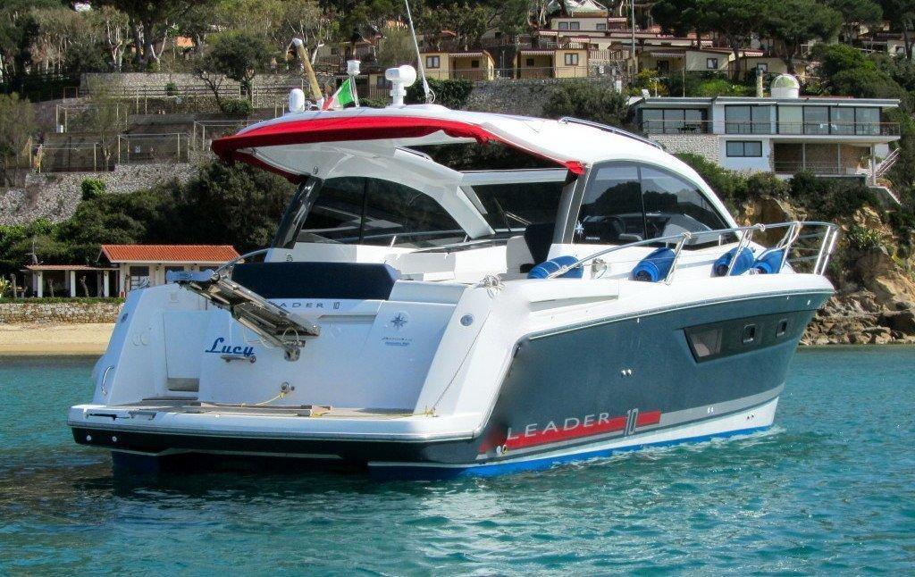 LEADER 10. Yacht rental in La Spezia Italy