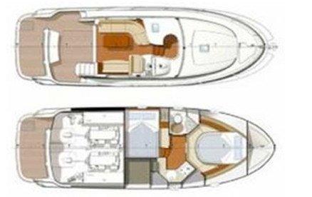PRESTIGE 32. Charter barca a motore a Cannigione, dettagli e prezzo