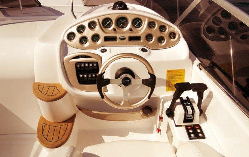 SESSA 30. Interior yacht Sardinia