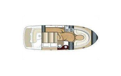 SESSA 30. Barca a motore in affitto