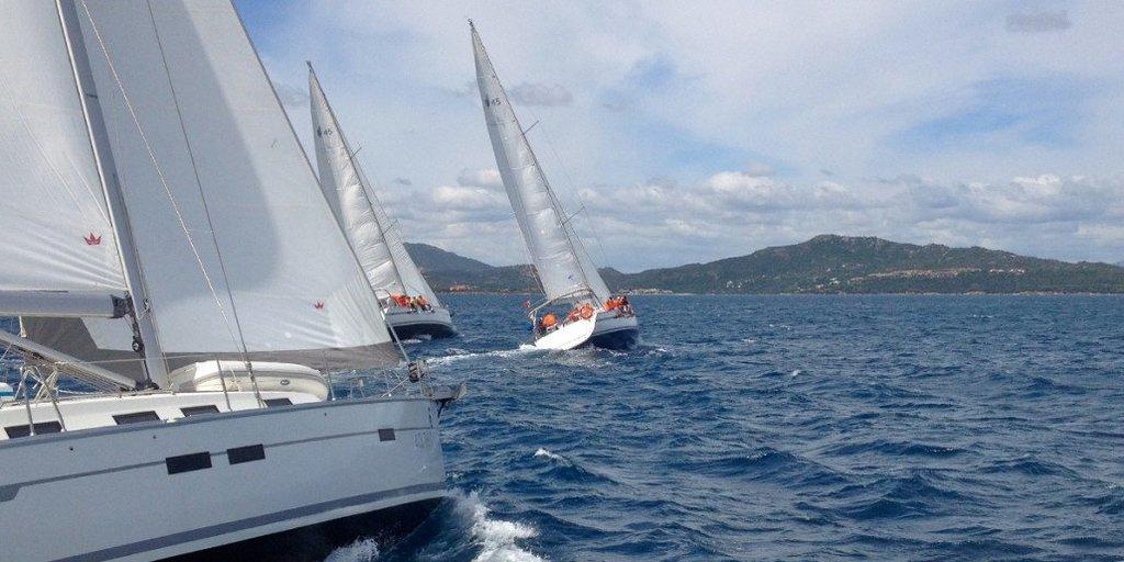 Vacanze a tema con Free Charter. Regata a vela Nord Sardegna organizzata da Free Charter ( Porto Rotondo - Spargi)