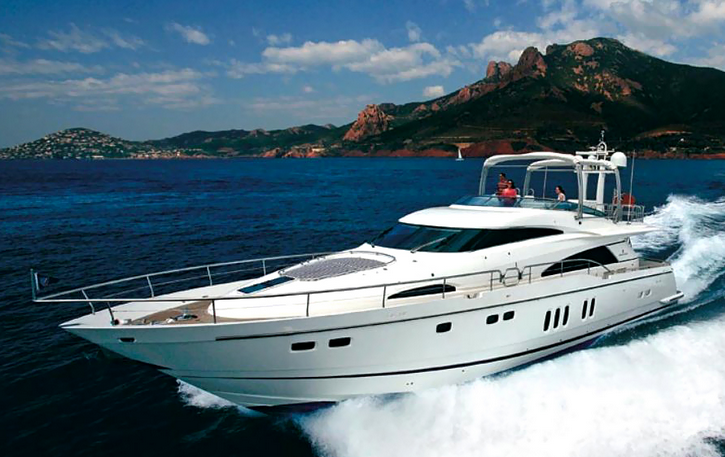 FAIRLINE SQUADRON Charter yacht in Beleari