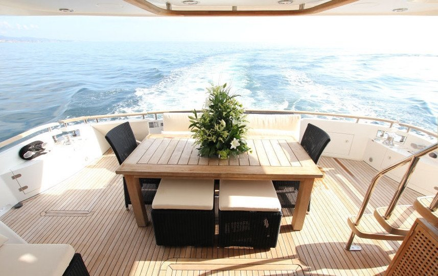 Charter yacht in affitto