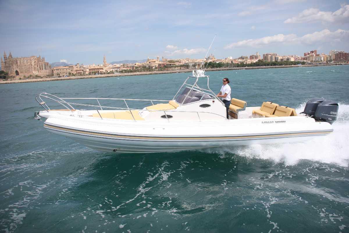 Vermieten Schlauchboot Lomac 1100